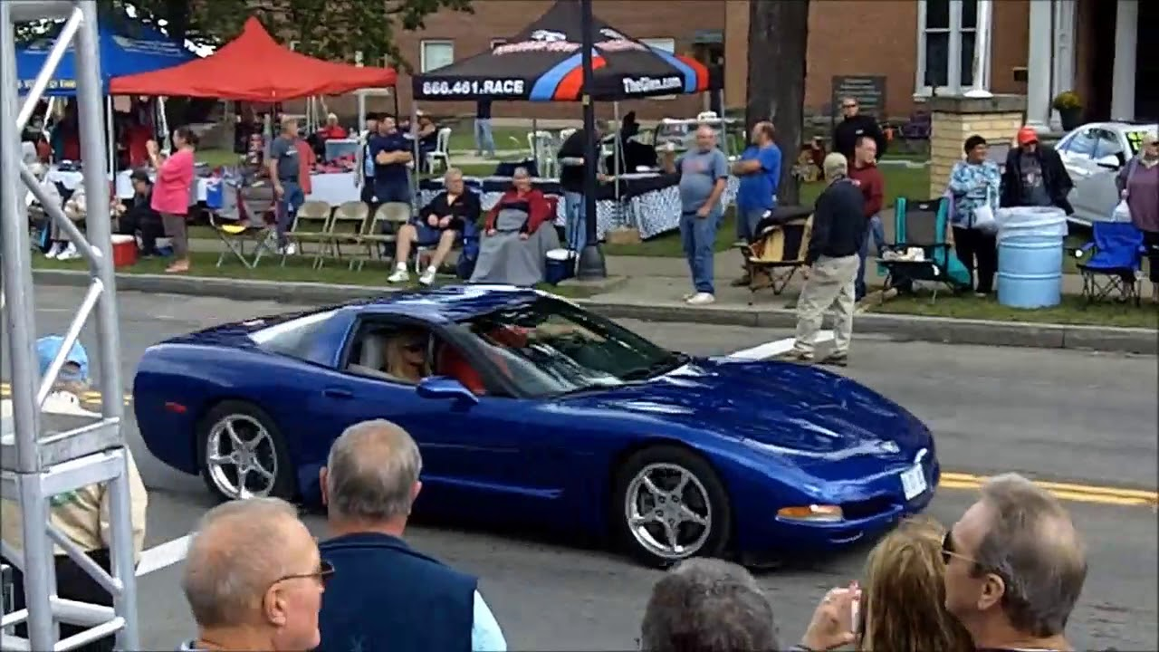 2017 U.S. Vintage Grand Prix car show at Watkins Glen - YouTube