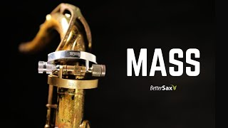 The Most MASSIVE Sax Sound Ever | Do Heavy Mass Screws Work?