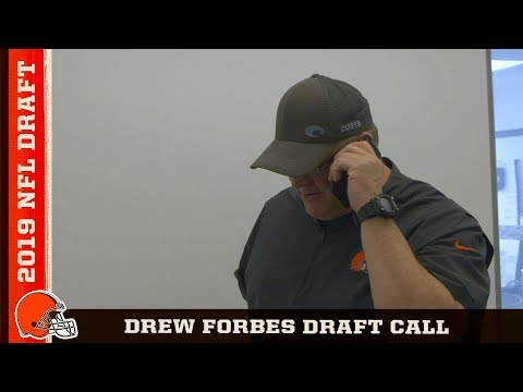 Drew Forbes hears from John Dorsey and Freddie Kitchens | Cleveland Browns
