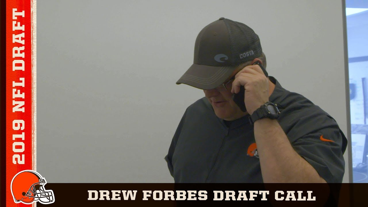 Drew Forbes hears from John Dorsey and Freddie Kitchens   Cleveland Browns