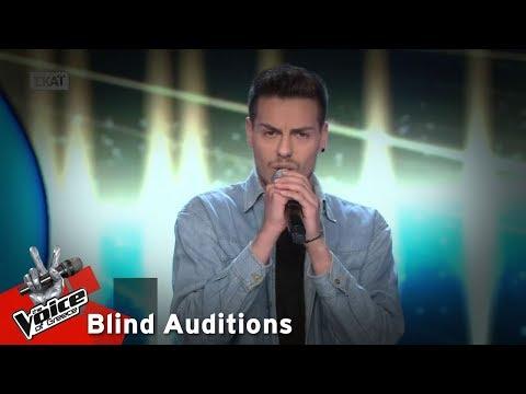 Ραφαήλ Σιλαίος - Tonight | 14o Blind Audition | The Voice of Greece