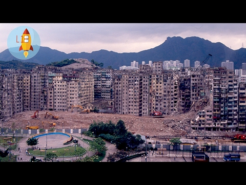 Kowloon Walled City - Hong Kong's Lawless Area