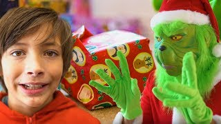 Mr. Grinch Yes Johnny | Learning the True Meaning of Christmas with Johnny