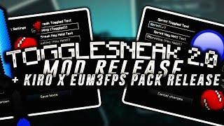 ToggleSneak 2.0 Mod Release (Chroma!) + kiro x eum3fps pack release (LIKE OR DIE) thumbnail