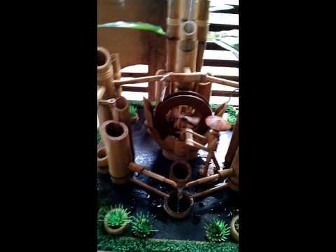 Air mancur bambu cendani