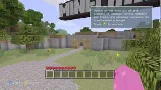 SECRET NETHER PORTAL in tutorial world! Minecraft xbox 360 edition