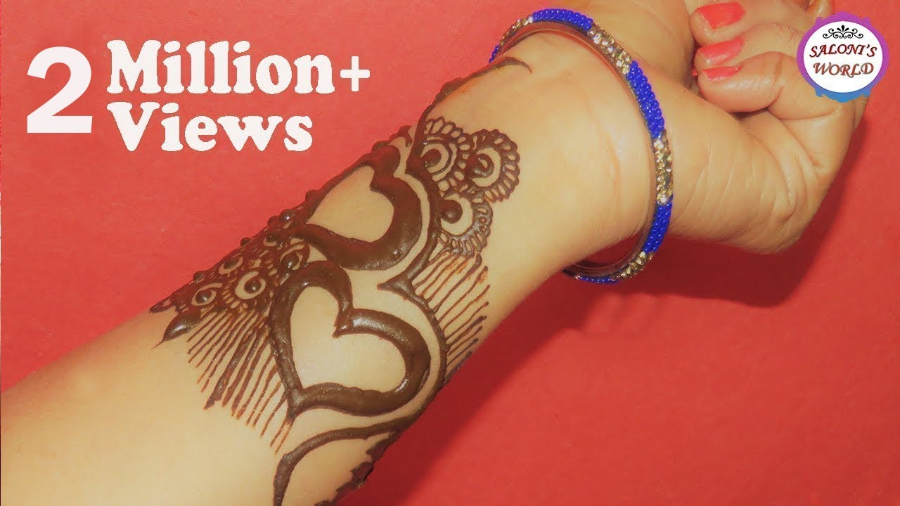 Diy Easy Henna Tattoo By Jyoti Sachdeva Youtube