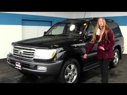 Virtual Walk Around Video of a 2006 Toyota Land Cruiser V8 4WD at Milam Truck Country u13392