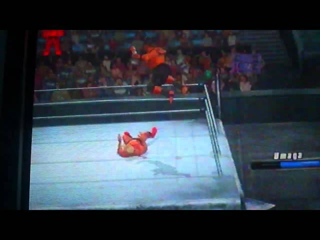 Mark Henry and Umaga Vs. Ric Flair ps2 WWE 2008 Travel Video