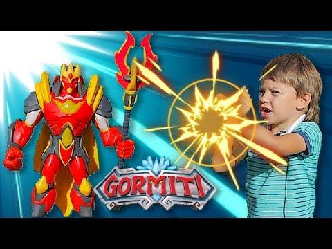 В поисках клада ГОРМИТИ! Егор нашел карту Gormiti Повелители Стихий!