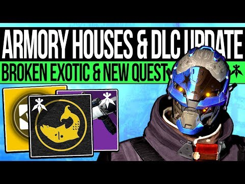 Destiny 2 | ARMORY HOUSES & BROKEN EXOTIC! New DLC Quests, Lost Cultures, Season Updates & Weapons!