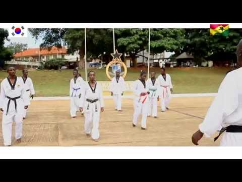 Ghana I LOVE   TAEKWONDO VIDEO CONTESTS  PRISON CLUB 2016
