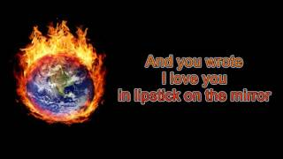 Setting The World On Fire Kenny Chesney Ft. Pink (Lyrics)