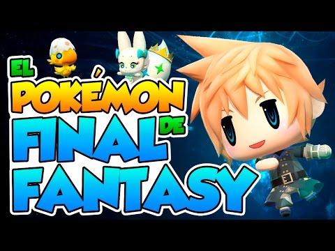 Download El Pokémon de Final Fantasy!! - World Of Final Fantasy (Impresiones) Screenshots