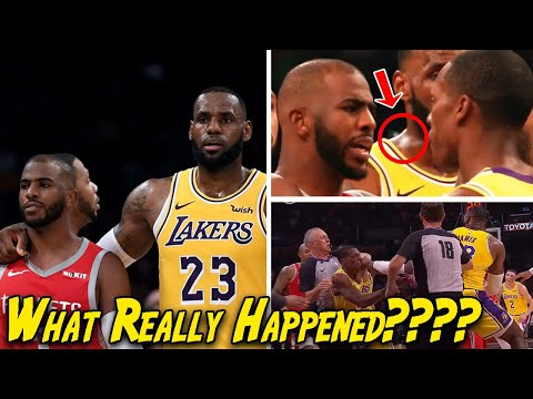 Full Rockets-Lakers fight breakdown. ALL Angles and punches captured.