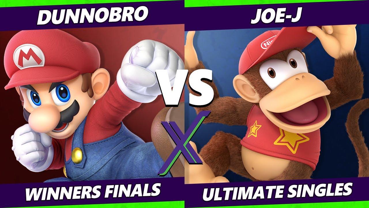 Download S@X 420 Winners Finals - Dunnobro (Mario) Vs. Joe-J (Diddy Kong, Wolf) Smash Ultimate - SSBU