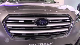 2015 Subaru Outback at 2014 New York International Auto Show NYIAS