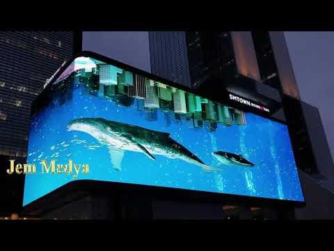 3D LED Screen Billboard