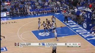 Kentucky vs Texas a&m Basketball Highlights 1-3-17