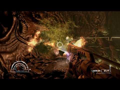 MATANDO A LA REINA ALIEN!!! Aliens vs. Predator - Campaña Marine - Gameplay Español #2