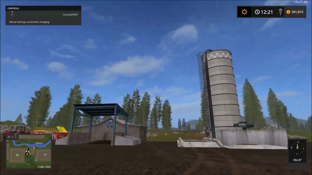 How to make silage (with mods )in farming simulator 2017