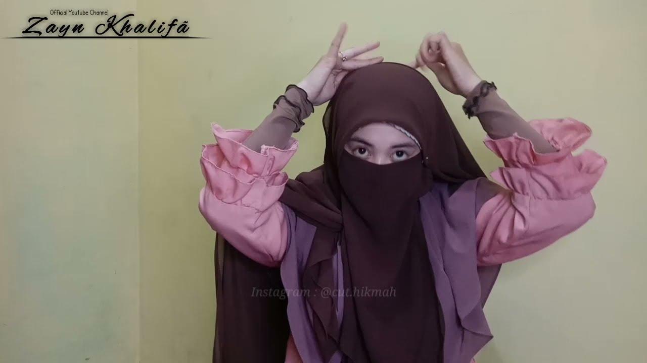 Step By Step Tutorial Hijab SegiEmpat Syar'i / Jumbo. Tren Uhkty Selebgram Masa Kini