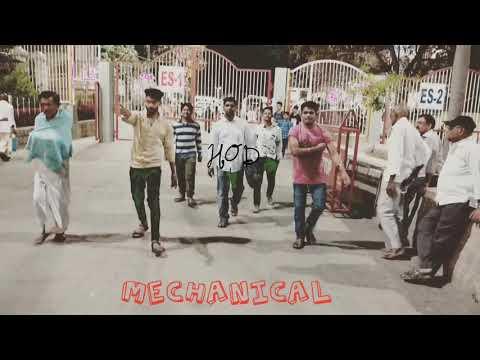 mech boys entry in college (mech boys always rock)