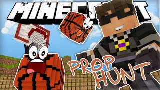 Minecraft PROP HUNT | BLENDING IN WITH GARBAGE!