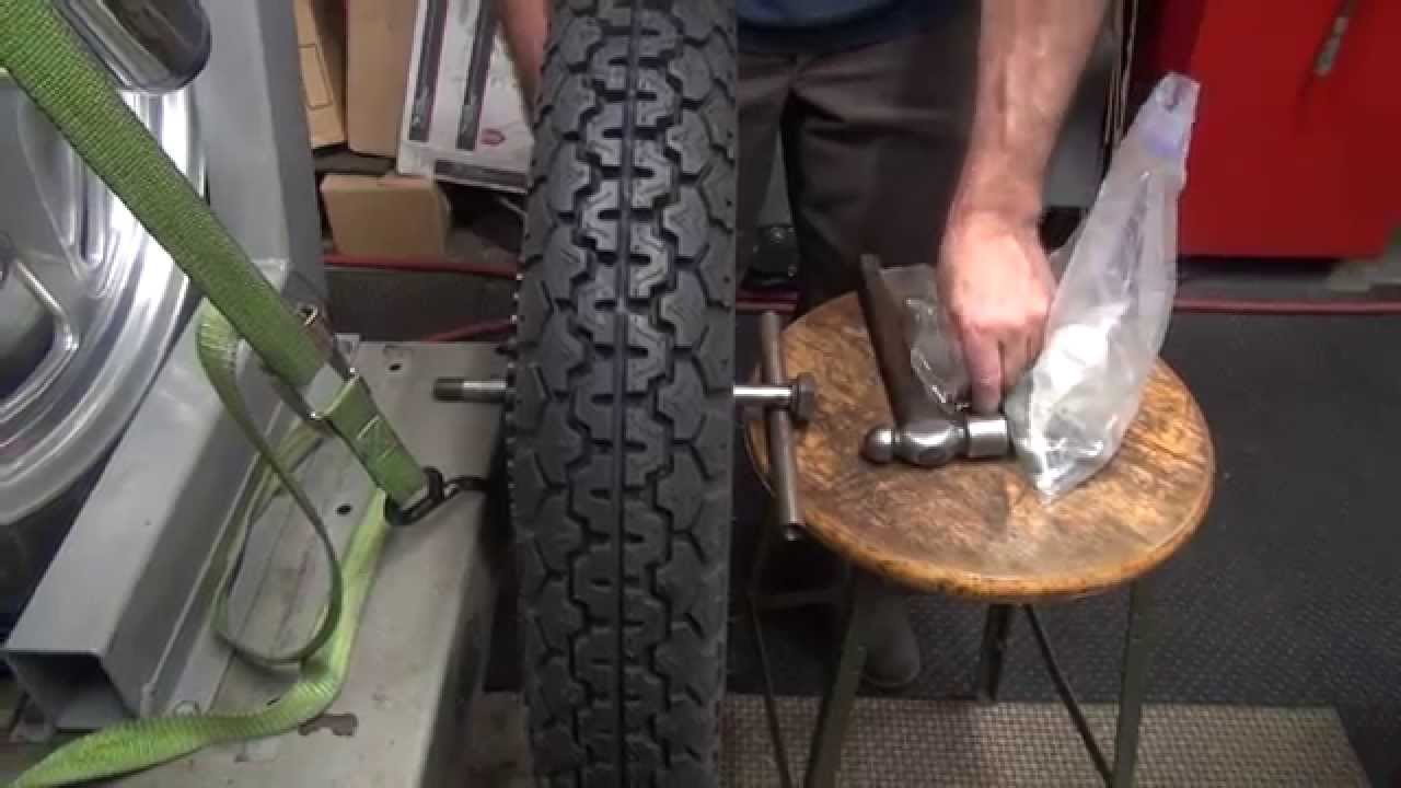 116 How To Do It     Install    Brake Drum   Static Balance Tire 1972 XL Ironhead Sportster Harley