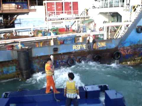 OffShore Total, Peciko, Indonésia, dangerous gap