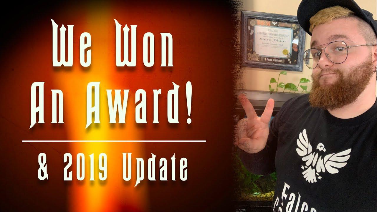 We won an award! **2019 Update**