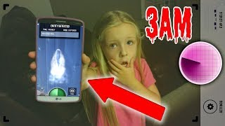 DO NOT USE THIS GHOST TRACKER APP AT 3AM!! GHOSTS SPEAK TO ME!! ( Guava Juice )