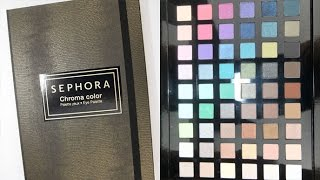 Sephora Chroma Color Palette: Live Swatches & Review Thumbnail