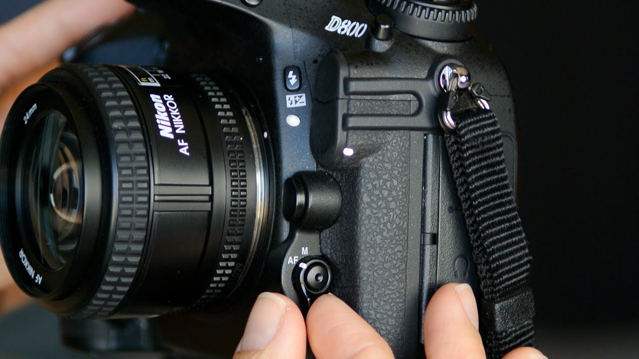 how to use nikon autofocus controls youtube rh youtube com nikon d600 manual focus screen Nikon D300