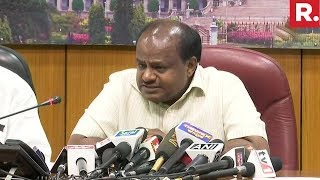 Karnataka CM HD Kumaraswamy Addresses Media On Kodagu Floods