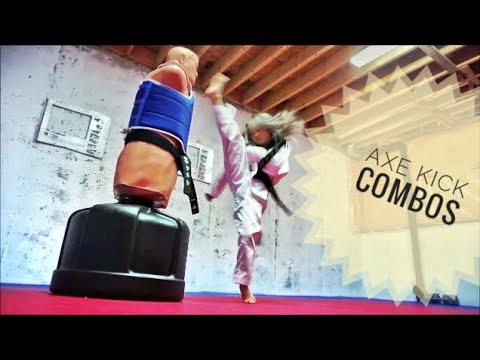 Axe Kick Combos TKD