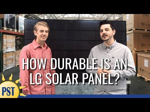 LG Solar Review - YouTube