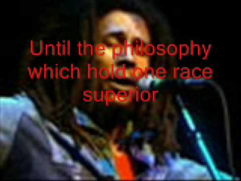 """Bob Marley & The Wailers  live - """"War/No More Trouble"""""""