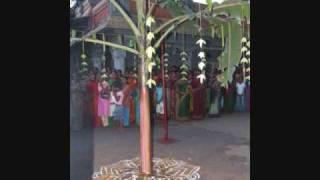 Repeat youtube video Kathiresan Temple, Bambalapitty, Sri Lanka ~ Navarathri festival, Maanam Poo or Vazhai Vettu