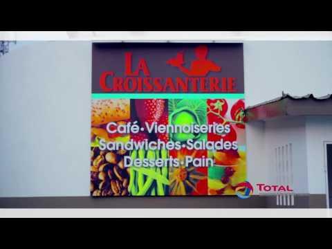 #LaCroissanterie #Station #Total #Congo #PointeNoire #ClockersMarketizing