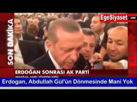 Erdoğan'dan Flaş Abdullah Gül Açıklaması
