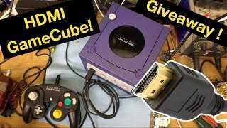 HDMI your GameCube ! Plus GameCube Giveaway (closed)