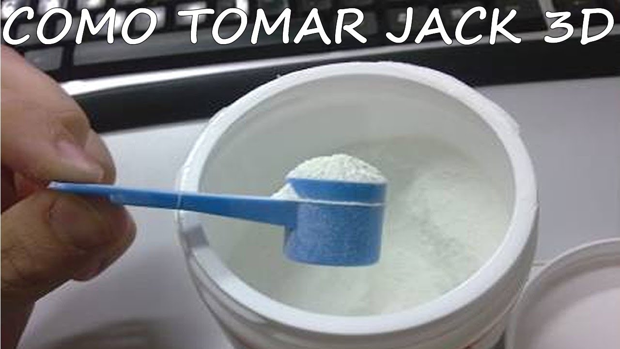 Jack3d como tomar