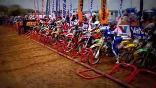 The best start in motocross Rosówek 2013 MX2 Movie by RC Leszno