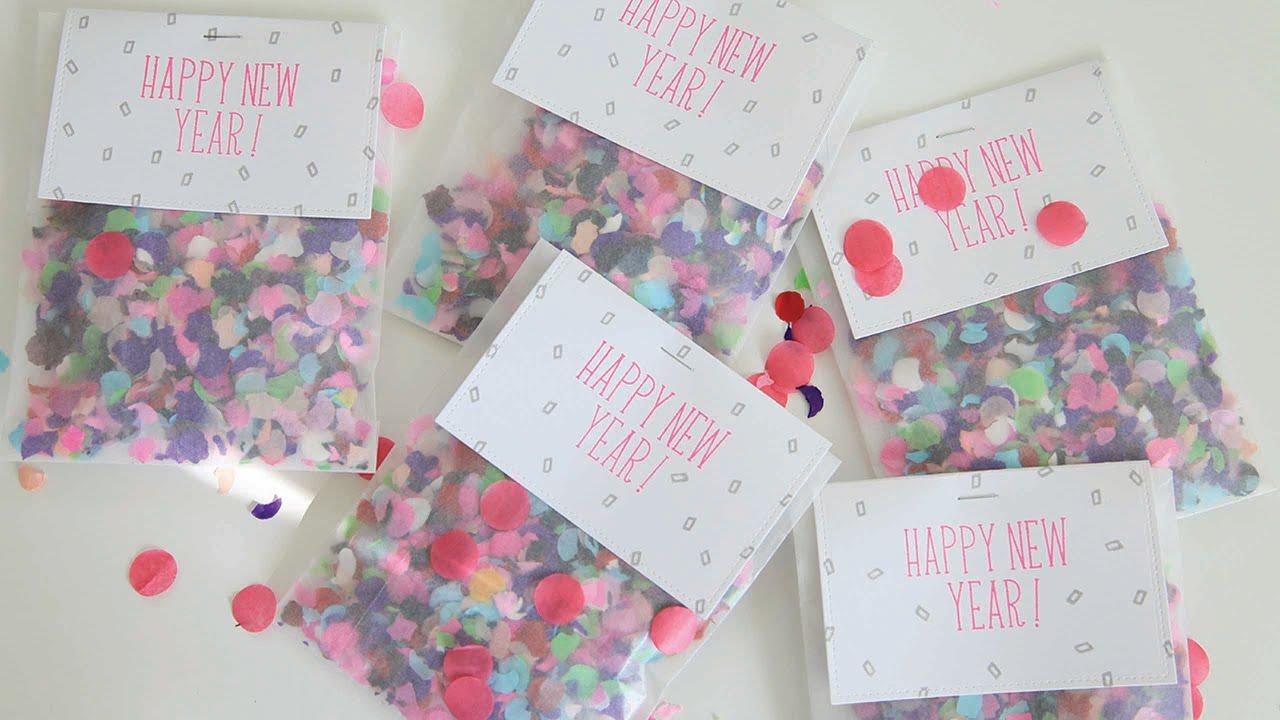 how to make personalized confetti