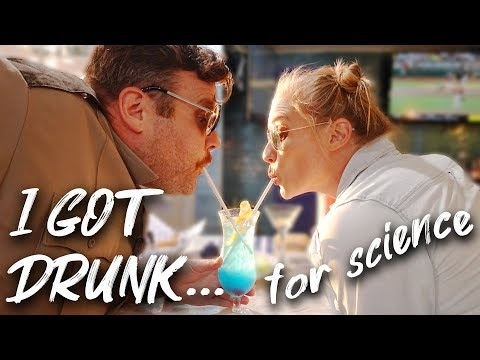 I GOT DRUNK....FOR SCIENCE  |  Ft. Longmire Co-Star Adam Bartley