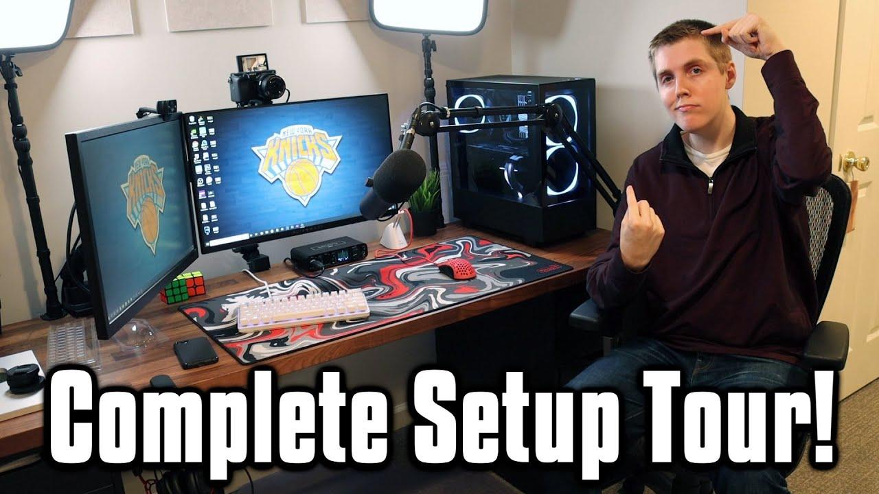 My $7,500 Fortnite Gaming Setup! - Full 2021 Setup Tour!