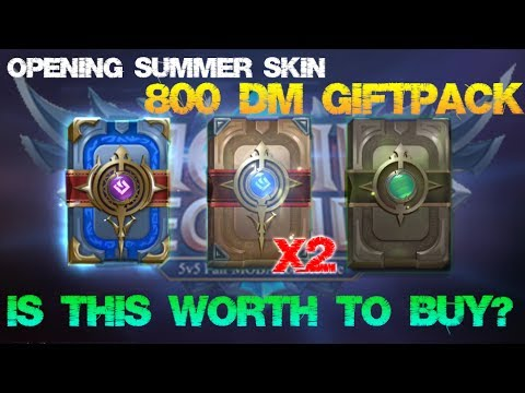 Mobile Legends  Is This Worth to Buy?  Summer Skin Giftpack 800Diamond X2