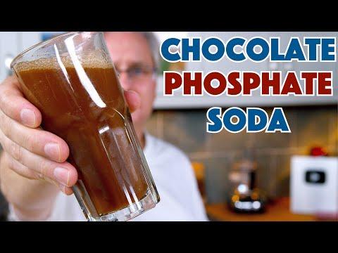 CHOCOLATE Phosphate SODA Pop Syrup Recipe