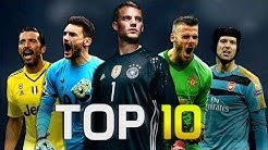 Die besten 10 Torhüter der Welt 2017 2018